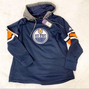 Adidas Women's Edmonton Oilers Pullover Hoodie